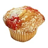 Otis Spunkmeyer Individually Wrapped Strawberry Shortcake Muffin, 2.25 Ounce - 96 per case.