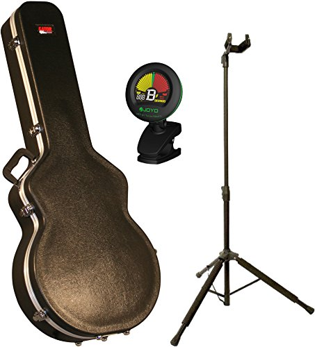 Gator GC-335 Deluxe 335 Style Electric Guitar Case w/ Stand and (335 Style Electric Guitar)