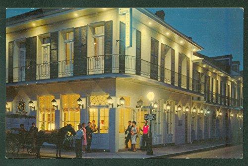 - Chateau Motor Hotel FRENCH QUARTER NEW ORLEANS NIGHT SCENE Louisiana Postcard