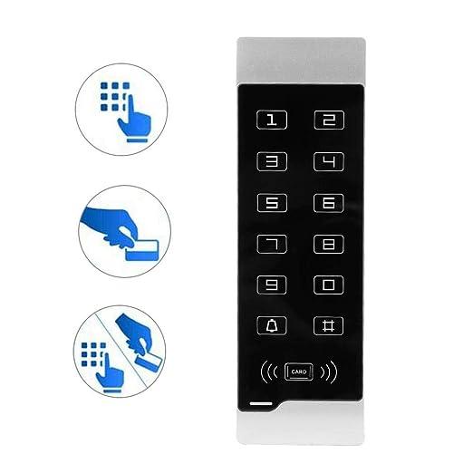 Control de Acceso de Seguridad, 116 Pantalla Táctil ...