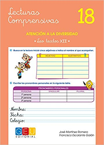 Lecturas comprensivas 18 / Editorial GEU / 5º Primaria ...