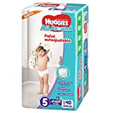 Huggies Pañales All Around, Unisex, Etapa 5, 40 Piezas