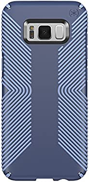 Speck Products Presidio Grip Cell Phone Case for Samsung Galaxy S8 Plus (S8+) - Marine Blue/Twilight Blue