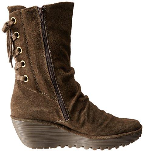 FLY London Womens Yada Boot Sludge 002 ER6gr