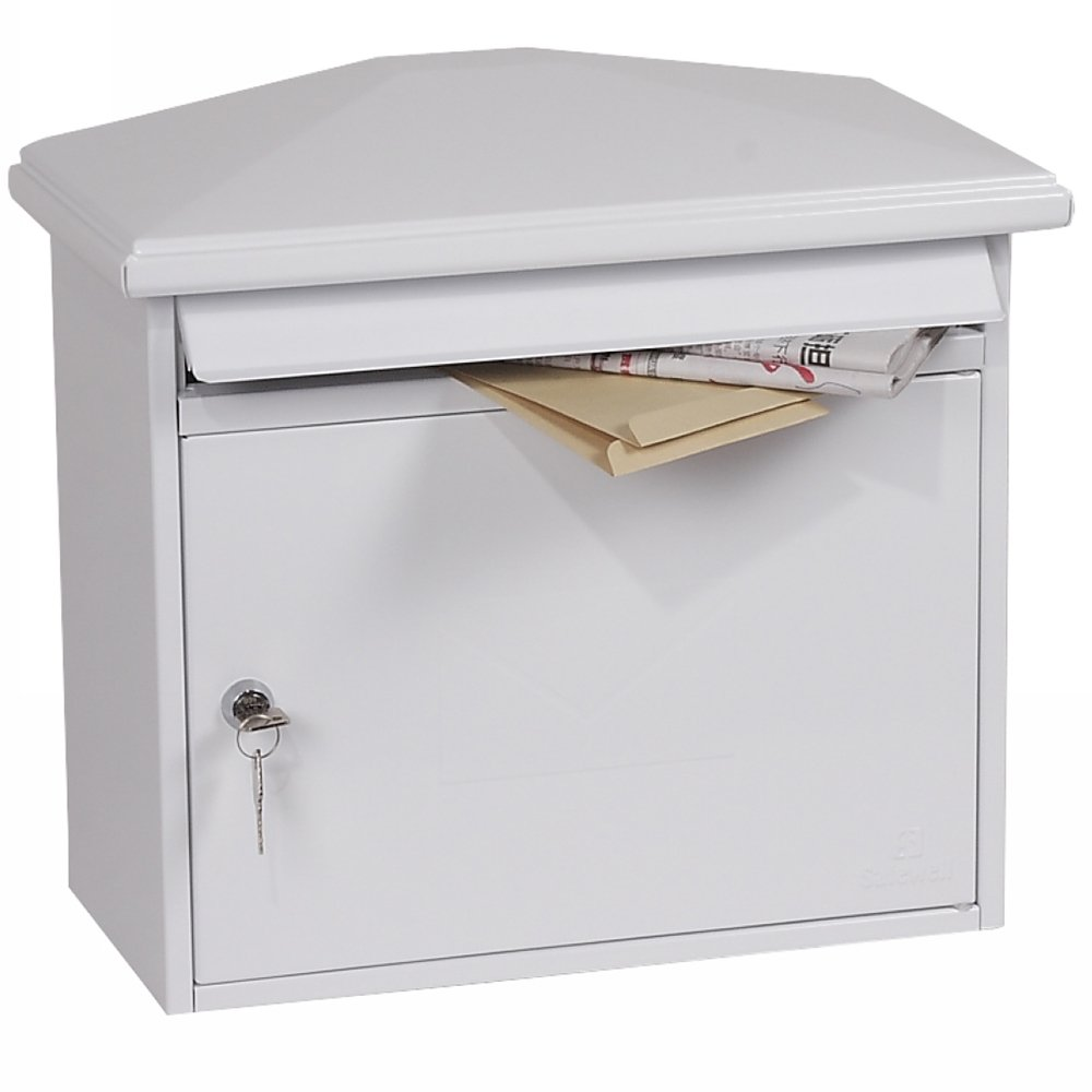 Phoenix Libro MB0115KG Front Loading Mail box in Green with Key Lock Phoenix Safe
