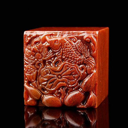 YZ020 Hmay Chinese Name Chop (4cm)/Handmade Carve Personalize Customized Traditional Calligraphy Painting Art Stamp Seal by Hmay Personalize Seal (Image #2)
