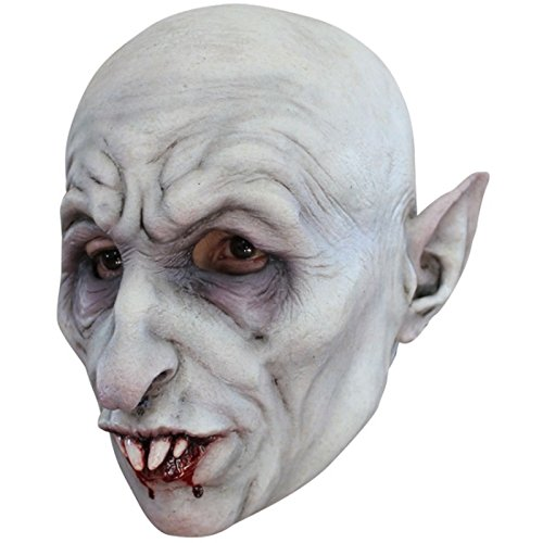 Nosferatu Classic Vampire Latex Mask Dracula Halloween Horror Adult Size]()