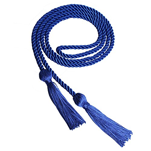 Royal Blue Cord - GraduationForYou Single Color Graduation Honor Cord-More Than 15 Colors for Your Options