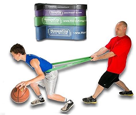 HoopsKing Bandas de resistencia de entrenamiento para baloncesto ...