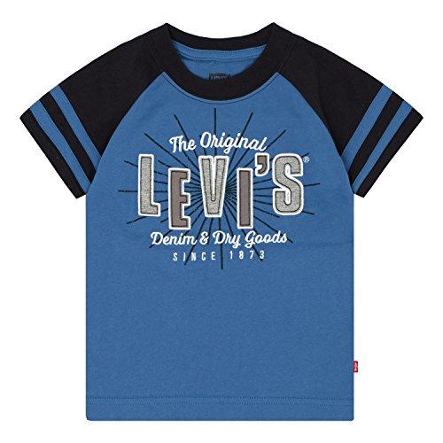 Levi's Little Boys' Applique T-Shirt, Delft, 7