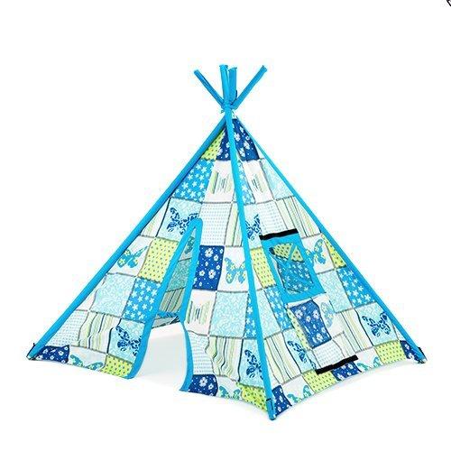 Kinder Schmetterling Aufdruck Innenraum Garten Spielzimmer Spielzelt Tipi Wigwam Zelt