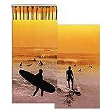 California Surfing Surfer Matches | Set 10 Wave Coastal Beach