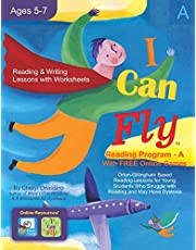 I Can Fly - Reading Program - A, With FREE Online Games: Orton-Gillingham Based Reading Lessons for Young Students Who Struggle with Reading and May Have Dyslexia