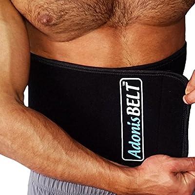 Themogenic Waist Trimmer Belt and Lumbar Support - The Adonis Belt