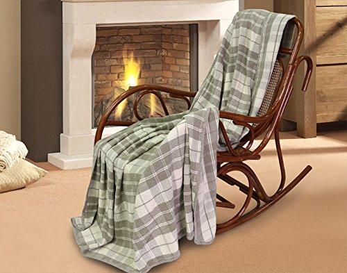 100% Pure Flax Linen Blanket (Grey)
