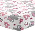 Bedtime-Originals-Twinkle-Toes-Jungle-Elephant-3-Piece-Bedding-Set-PinkWhite