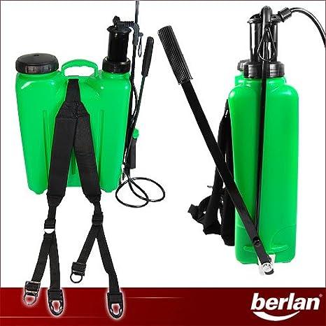 Berlan BRS16 - Pulverizador a presión (mochila, 16 l): Amazon.es ...