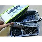 Bose SoundLink Mini ケース カバー 【KuGi】 Bose SoundLink Mini / Bluetoothスピーカー SoundLink Mini II 対応 EVA ケース おしゃれ 専用保護 スピーカケース 旅行やホームストレージに最適 全面保護 小物収納可能 ブラック