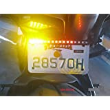New SMD 5050 LED Turn Signal Brake Light and Running Tail Light for Car Motorcycle License Plate.