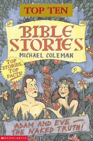 book cover of Top Ten Bible Stories