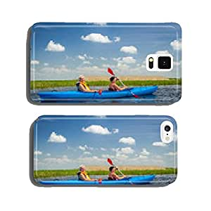 Couple kayaking on river cell phone cover case iPhone6 Plus