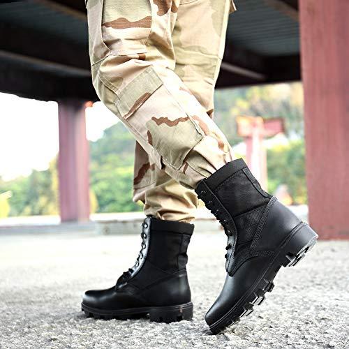 HCBYJ Schuhe Special Forces Militärstiefel hohe Stiefel Stiefel Stiefel Stiefel Kampfstiefel Männer Special Forces Militärstiefel verlassen Outdoor-Taktik 7338d9