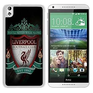 Unique Custom Designed Cover Case For HTC Desire 816 With Liverpool White Phone Case 2