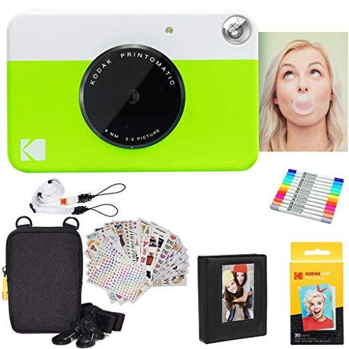 Kodak Printomatic Instant Camera  Gift Bundle + Zink Paper
