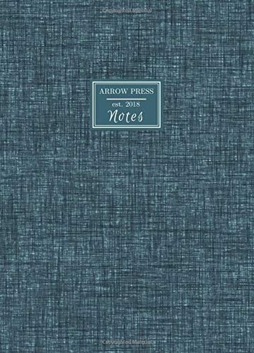 Pdf Money Notes: Oversize Circle the Date Business Notebook with Ruled Pages for Work or School Professional Blue Gray Textured Design