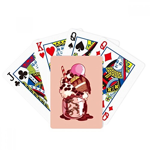 beatChong Cake Biscuit Cream Chocolate Ice Cream Poker Playing Card Tabletop Board Game Gift by beatChong