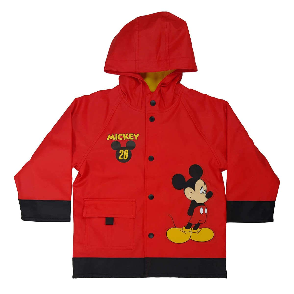 Activewear Boys Location Waterproof Fleece Lined Black Winter Jacket Kids School Coat New Sturdy Construction Clothing, Shoes & Accessories