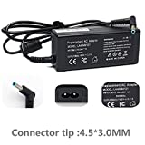 SIKER 19.5V 2.31A 45W AC Adapter for HP Stream 11 13 14,Elitebook-Folio 1040 G1; Split 13 X2; Spectre-Ultrabook X2 13-3000, 719309-001 741727-001