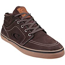 Oneill Mens Santa Cruz Mid Suede Lace up Shoes