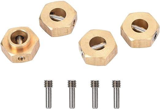 Dilwe Ejes de Rueda Hexagonales RC, 5mm Cubos Hexagonales de ...