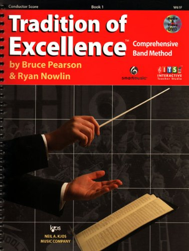 W61F - Tradition of Excellence Book 1 - Conductor Score