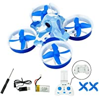 RC drone Helicopter KK2DW 2.4G 4CH 6-Axis WiFi FPV Quadcopter with HD Aerial Camera Wifi Real-time Transmission Barometric Pressure Altitude Hold Toys (USB)