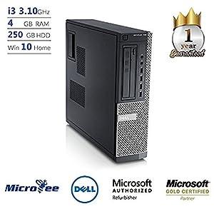 Dell OptiPlex 790 SFF Desktop PC - Intel Core i3-2120 3.3GHz 4GB 250GB DVDRW Windows 7 Pro (Certified Refurbished)