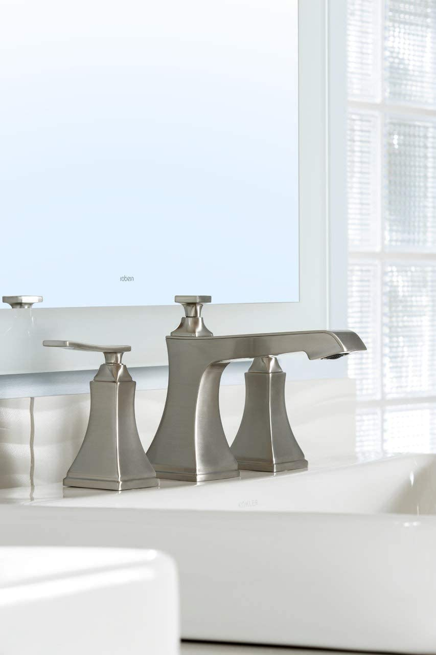 Miseno ML801 Elysa-B Widespread Bathroom Faucet – Includes Pop-Up Drain Assembly