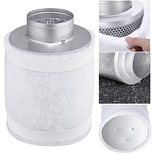 4-150cfm-hydroponic-air-carbon-filter-odor-control-scrubber-for-inline-exhaust