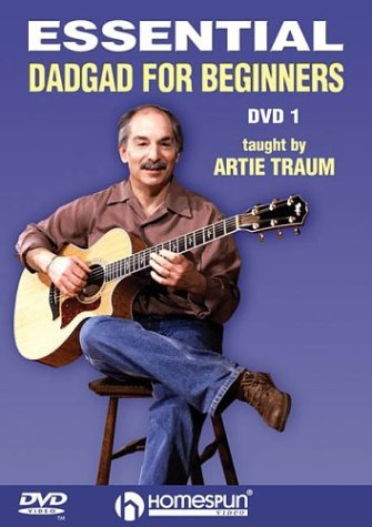 Fingerstyle Guitarist Dvd (Homespun Essential DADGAD for Beginners 1 (DVD))