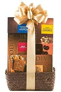 Wine.com Godiva Milk Chocolate Gift Basket