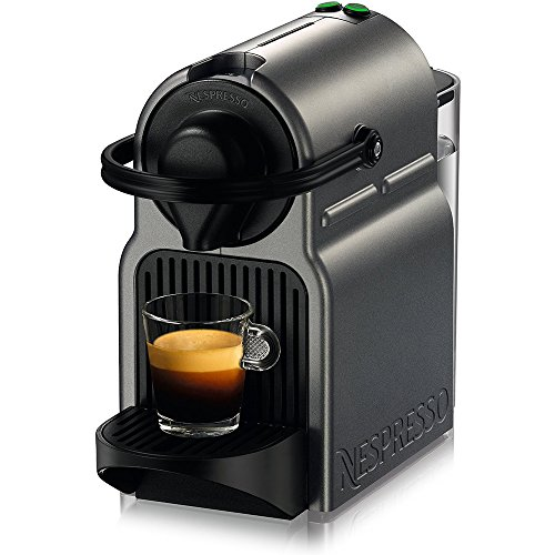 Beach Camera Nespresso Inissia Espresso Maker – Titan (C40-US-TI-NE) Aroma Stainless Steel One Serving Milk Frother