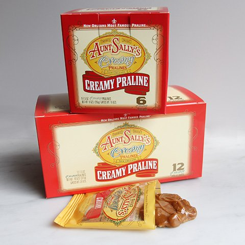 Creamy Original Pralines 1.5 ounce /Pack of 12 -