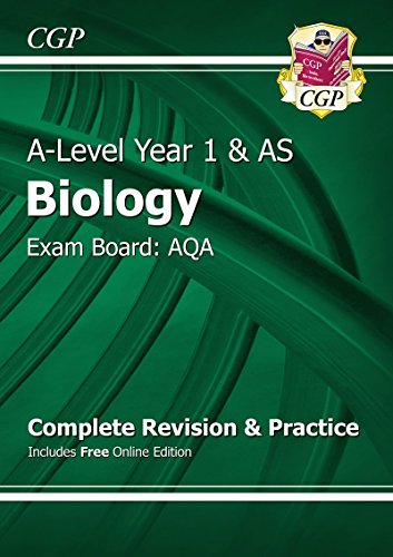 READ A-Level Biology: AQA Year 1 & AS Complete Revision & Practice with Online Edition R.A.R