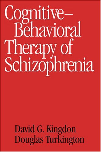 Cognitive Behavioral Therapy Schizophrenia David Kingdon product image