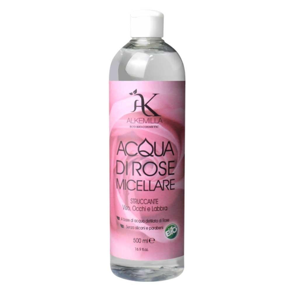 Alkemilla Detergenti Tonico Viso Acqua di Rose Micellare - 500 Ml 8051414383434