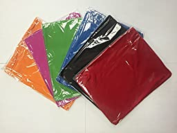 Stretchable Jumbo Book Covers set of 6 individual colors Book Suits