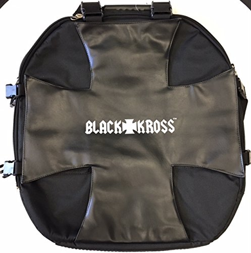 Black Kross BK-100 Cymbal Bag for drum sets by Coffin Case / Case Core CaseCore BK100