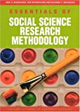 Essentials of Social Science Research Methodology, Beckmann, Suzanne and Ostergaard, Per, 8776741303