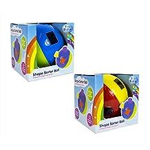 First Steps Shape Sorter Ball (Red/Yellow/Blue/Green)